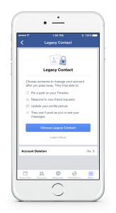 Legacy Contact_Choose